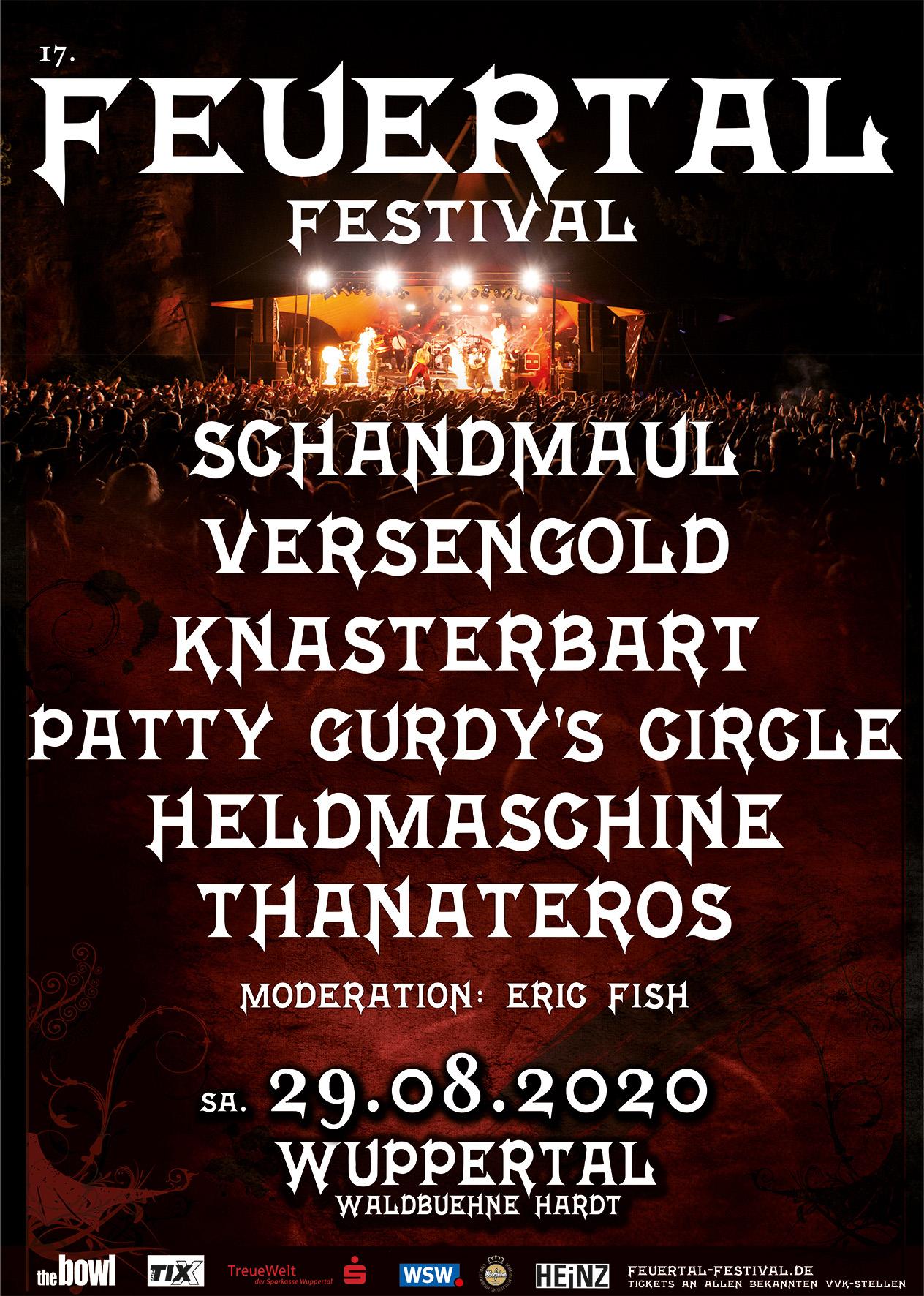 17. FEUERTAL FESTIVAL 2020 - CAMPINGTICKET