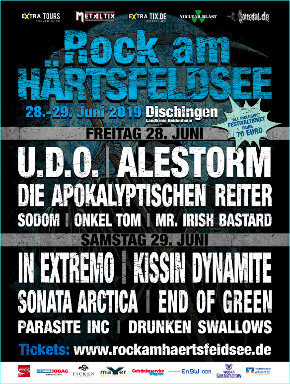 ROCK AM HÄRTSFELDSEE 2019 // 2-Tages Festivalticket